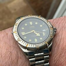 Vintage Oris B-7401 200m Divers Watch With Swiss Automatic Movement