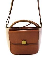 Madewell Leather Adjustible Single Strap Crossbody Handbag Brown