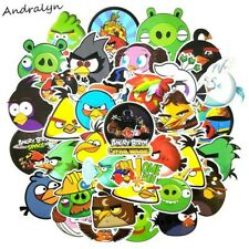 50 Pcs/pack Angry Bird Cartoon Game Stickers For Diary Luggage Motorcycle Laptop