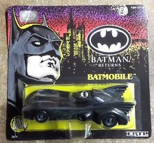 "1992 ERTL BATMAN RETURNS Die Cast 1:24 Metal BATMOBILE 5.5"" - Carded"