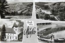 21812 Ak Gruß De Münster Dans Herrgottstal Bad Mergentheim Église Lac À 1965