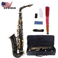NEW 82Z Key Alto Sax Saxophone 82Z Key + Padded Gig Box + Cleaning Kit R4R4