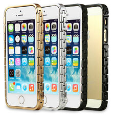Luxury 3 Colors Chain Metal Aluminum Bumper Frame Shell Case Cover For iPhone 5S