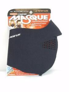 Seirus Innovation Neofleece Comfort Masque Black Winter Cold Mask #6810