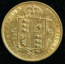 More details for half sovereign 1892 gold victoria jubilee head shield back (t112)