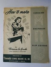 New listing How to Make Curtains, Draperies, Covers by Florence La Ganke Vintage 1940