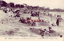 SAINT NAZAIRE - LA PLAGE PRISE DE LA JETEE - FRANCE