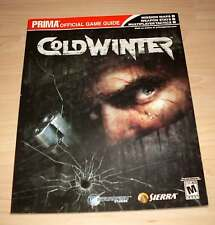 Cold Winter - PRIMA Official Game Guide - Mission Tactics - Neuwertig