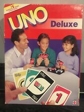 UNO Deluxe Edition With Extra Pack Of Score Sheets! Complete! Free Shipping!