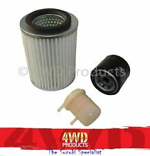 "Oil/Air/Fuel Filter SET - Suzuki Sierra SJ40T ""Ute/Tray"" (81-86) 1.0 F10A"
