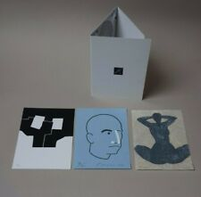 Rare portfolio - 3 lithographies originales ARROYO - CHILLIDA - KOYAMA - 1996