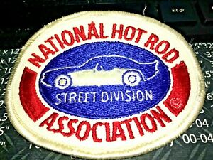 NHRA Championship Drag Racing Street Division Patch - NEW AND UNUSED
