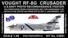 RVHP Models 1/48 Vought RF-8G Crusader Photo Reconnaissance Conversion Set