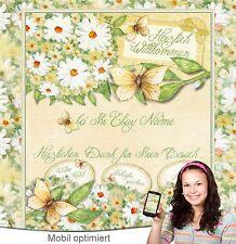 Auktionsvorlage Neutral Blumen Mobil optimiert Responsive Template Vorlage | 505