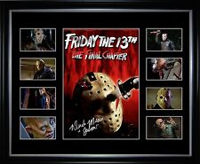 Friday The 13th The Final Chapter Limited Edition Framed Memorabilia