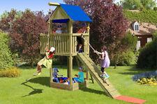 Kinderspielhaus Multiplay Woman Chief Kinderhaus Spielanlage Spielhaus Holz NEU