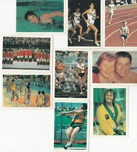 Weet-Bix Australia at the Olympics Cereal Card Lot