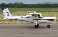 Jabiru J-430 Australian Ultralight Light-Sport Aircraft Desktop Wood Model Large