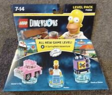 Lego Dimensions Simpsons Level Pack - Mint, Boxed, New!