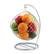 Swinging Fruit Basket Chrome Tree Bowl Francois et Mimi Free Shipping New