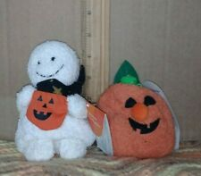 Two RUSS Home Buddies - Haunts the Ghost and Punky the Pumpkin (LOT)