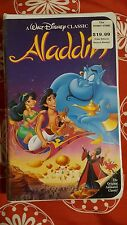 Aladdin. VHS. DISNEY. BLACK DIAMOND CLASSIC. BRAND NEW/SEALED. FREE SHIP. RARE
