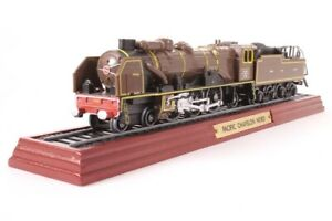 "Atlas Editions ""Pacific Chapelon Nord"" - Model Train on Display Stand - 1:100"