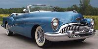 1950s Buick Sport Car Vintage Dream Built Grill 1 24 Metal Body Model Concept