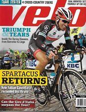 Velo cycling magazine Fabian Cancellara Spring Classics Cross country 29er test