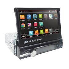 AUTORADIO 1 DIN NAVIGATORE ANDROID UNIVERSALE CON LETTOE DVD GPS USB SD STEREO