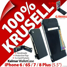 """Krusell Kalmar Wallet Case Cover for Apple iPhone 6 / 6S / 7 / 8 Plus (5.5"""")"""