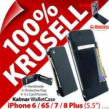 Krusell Kalmar Portafoglio Custodia Cover Per IPHONE Apple 6/6S/7/8 Più (5.5