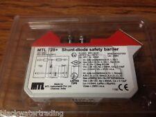 New MTL 728+ Shunt-Diode Safety Barrier (C#1)