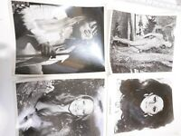 Random Lot of 4 HOLLYWOOD 1940's-90's Press Photos (SIZE 8X10) #17