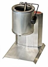 Electric Lead Melting Pot Metal Melter Furnace Casting Molds Spout