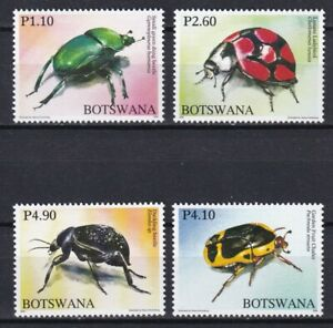 Botswana 2008 Insects 4 MNH stamps
