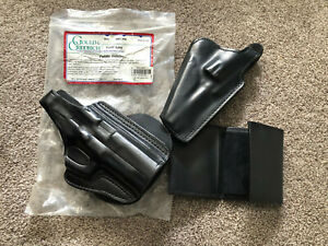 Gould and Goodrich Paddle Holster Gold Line B807-P90 NIP (2 holster/1 wallet)