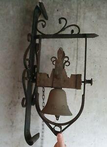 hübsche Türglocke historisches Modell Kleene Gartenglocke m hellem Klang Glocke