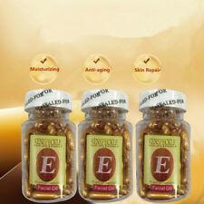 60pcs VE Vitamin E Essence Face Cream Whitening Serum Wrinkles Anti-Aging Care