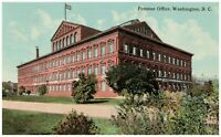 Pension Office Washington DC 1913 Postcard Posted
