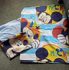 Mickey Mouse Cot Bed Set