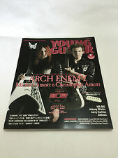 YOUNG GUITAR Magazine 2011 JUN. Printed in Japan DVD Regioncode2 Arch Enemy