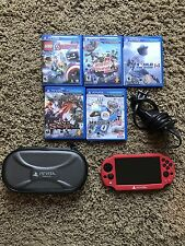 Bundle! PSP Vita Firmware 3.6!! ( Can Be Modded) With 6 Games, Case And Cover