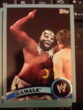 2011 Topps WWE Wrestling BLUE #107 Kamala #d 10810/2011