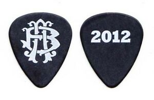 Nickelback Black Guitar Pick 2012 Here And Now Tour