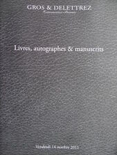 catalogue de vente Livres et manuscrits Napoleon 1er Empire