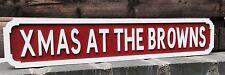 Personalised Xmas Vintage Street Sign, Xmas At The ....