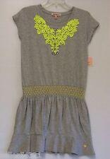 **NEW** Juicy Couture - Fashion Drop Waist Dress w/ Applique - Size 8/10