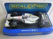 Scalextric Hornby slot car 1/32 F1 Virgin 23 Brawn Gp runs well Ec boxed 24
