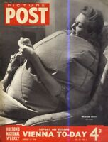 PICTURE POST MAGAZINE 19/1/46 - VIENNA TODAY, A MINER GOES UP TO OXFORD